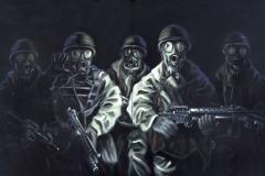 Universal Soldiers, 120 cm x 200 cm (2-teilig)