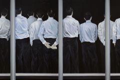 Die Verkündigung, 140 cm x 480 cm (6-teilig)
