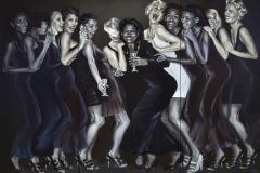 Girls – Girls – Girls; 180 cm x 260 cm (3-teilig)
