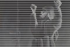 Woher -  Wofür - Wohin I, 180 x 100 cm, Acryl und Digitaldruck/Leinwand