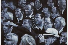 Spectators II, 150 cm x 200 cm, 2-teilig, Acryl/Leinwand