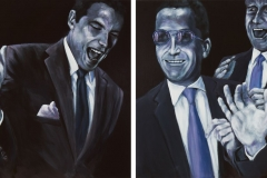 Money, 100 cm x 280 cm, Diptychon