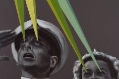 """Liberation, 140 cm x 100 cm (überarbeitete Version von """"Somewhere 1"""", 2020)"""