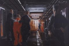 Nine eleven IV, 2012, 80 cm x 120 cm